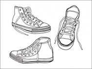 sneaker,graphics,object,illustrated,shoe,tennis shoe,tennis,drawn