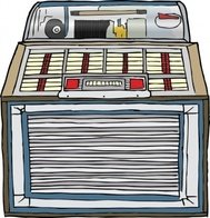 jukebox,record,music,sound system,media,clip art,public domain,image,png,svg,record,record
