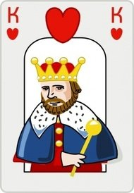 king,heart,game,card,cartoon,color,media,clip art,public domain,image,png,svg