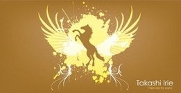 animal,horse,wing,splatter,abstract,_animals,element,background,brown,golden,design,element,wing,wing,animal
