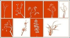 classical,plant,material
