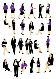 business,woman,businesswoman,silhouette,people,silouhettes