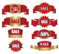 sticker,label,sale,discount,red