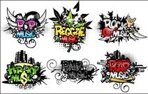 plant,rock,gesture,skull,genre,pop,reggae,hip,hop,dance,grunge,splat,shape,abstract,plants,gesture,vector,splat,shape