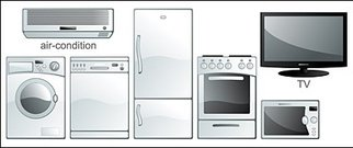 vector,material,commonly,used,household,electrical,appliance
