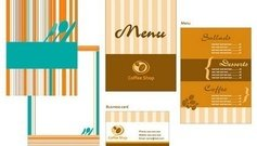 catering,menu,card,template,vector,material