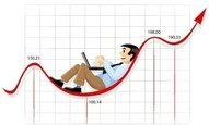businessman,working,currency,chart,line