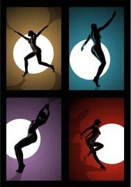 sexy,girl,silhouette