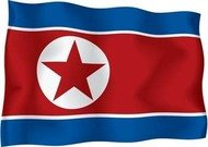 north,korea,flag