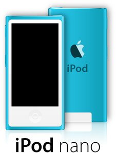 Apple iPod nano 7th generation clip arts, free clip art ...