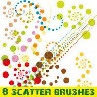 brush,colorful,dot,dotted,spot