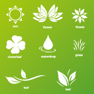 leaf,nature,plant,water drop,icon,vector icon,nature icon,leaf icon