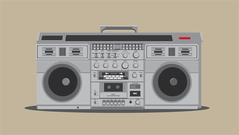 boombox,music,hipster,80,musical,radio,stereo,technology,90