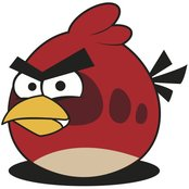 red,angry bird,bird,cartoon,character,game,video game