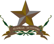 banana republic,outdoors,rugged,star,alaskan,safari,wilderness,outfitter,logo,emblem