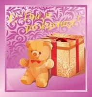 teddy,bear,present