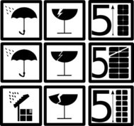 pictograms,rain,water,broken,glass