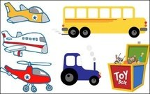 aircraft,helicopter,car,tractor,train