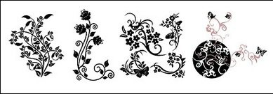 pattern,butterfly,vine,practical