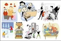 variety,cartoon,character,illustration,material