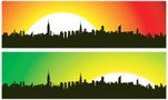 NYC Midtown Skyline   ( Vector )