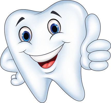 tooth cartoon with thumb up clipart image tooth cartoon with thumb up clipart image
