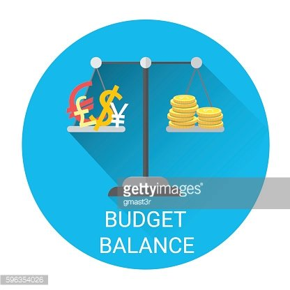 Budget Balance Scale Business Economy Icon