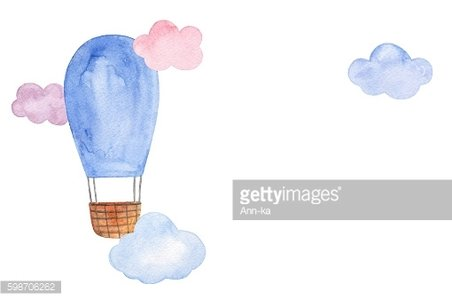 Air balloon illustration