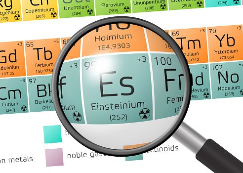 Einsteinium description