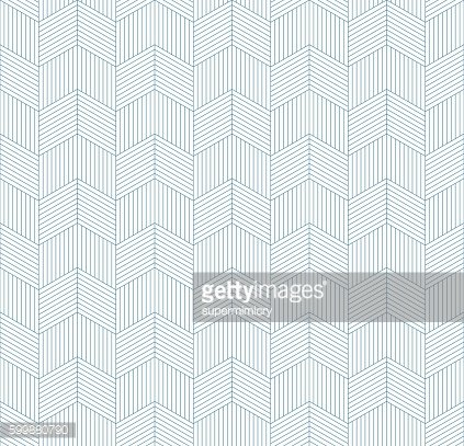 seamless chevron pattern of striped rhombuses.
