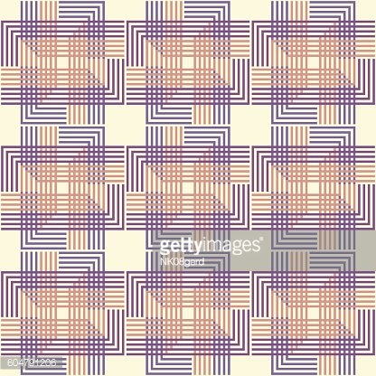 Geometric seamless pattern background with line.