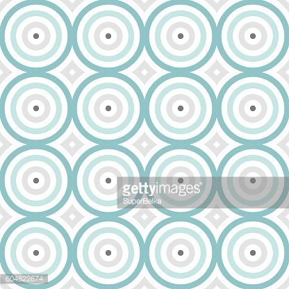 Abstract seamless colorful pattern. Modern stylish round backgro