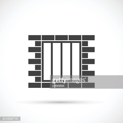 Jail vector icon