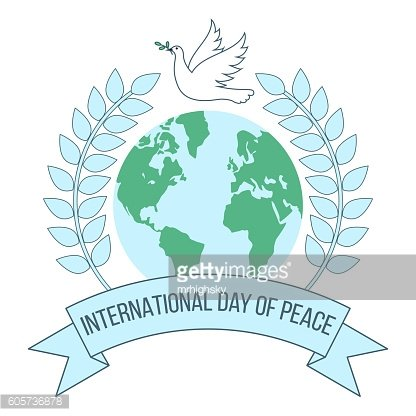 International day of peace banner