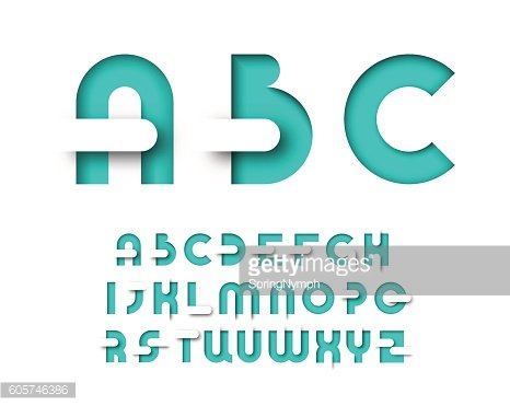 Mint color graphical layout type.