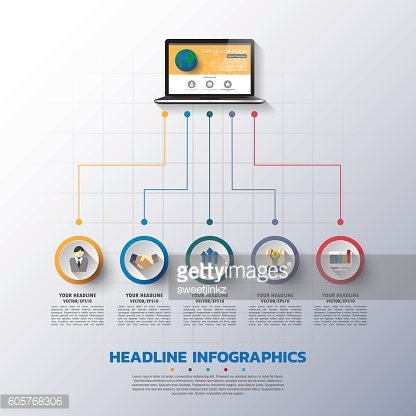 business Infographic Template. Data Visualization. vector illust