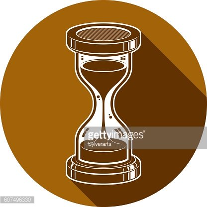 Time without end conceptual icon, web design element. 3d vector