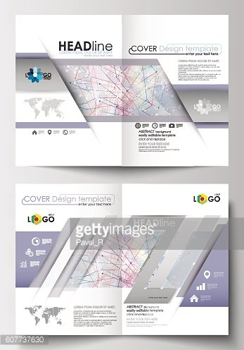Business templates for brochure, magazine, flyer, booklet. Cover design template