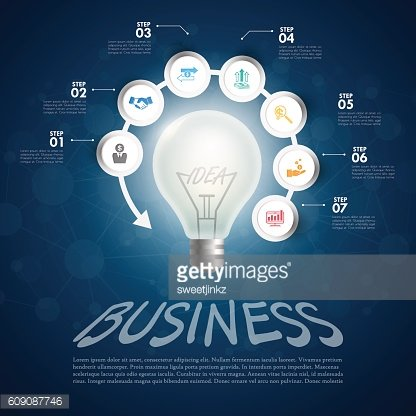 business Infographic Template. Data Visualization. Can be used f