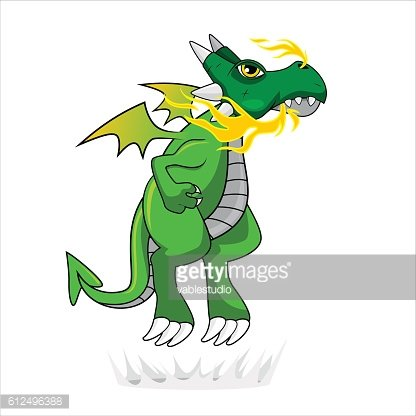 Fire Dragon - Green Version