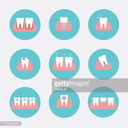 Types of dental clinic services. Stomatology and dental procedur