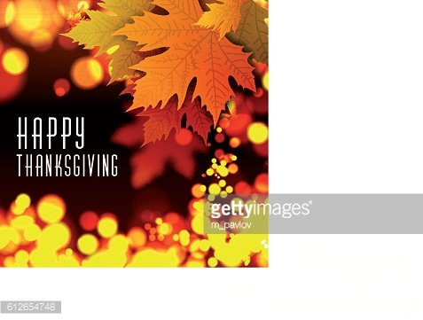 Happy thanksgiving vector background