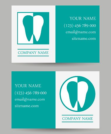 Business card templates dental clinic premium clipart clipartlogo business card templates dental clinic reheart Gallery