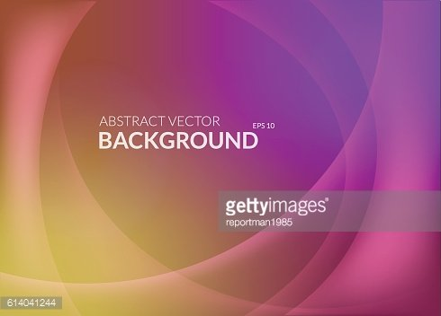 Cold and warm abstract background with curvy lines