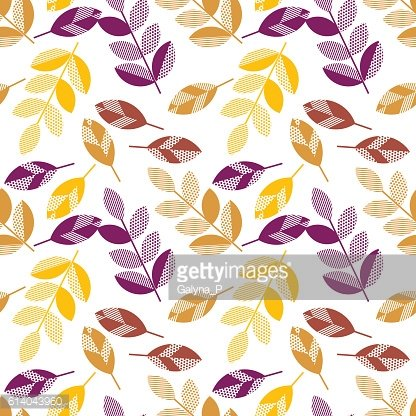 autumn leaves vector illustration abstract.
