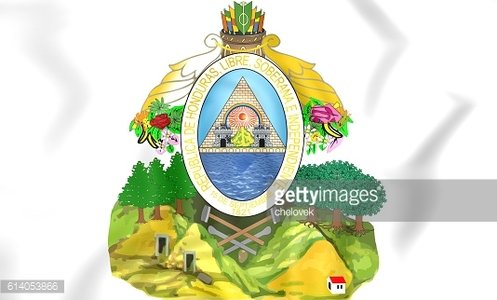 Honduras coat of arms.