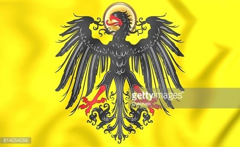 Imperial banner of Holy Roman Emperor (before 1433).