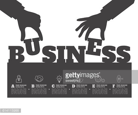 Startup background. Beginning of business ideas. Concept for you