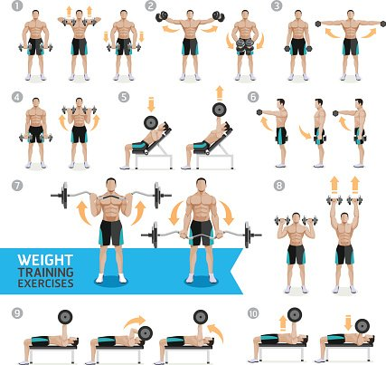 Muscles clipart strength training, Muscles strength training Transparent  FREE for download on WebStockReview 2020