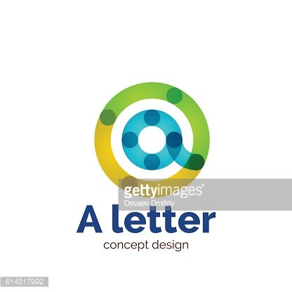Vector letter icon